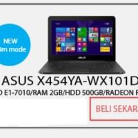 Asus X454YA # AMD VGA ATi 14 Murah !!
