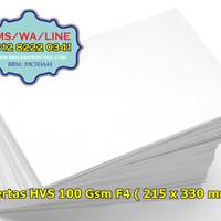 Kertas HVS F4 100 gram | 1 rim