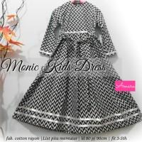 SUPPLIER HIJAB : MONIC KIDS DRESS BY AMARA