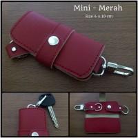 Dompet Kunci STNK Mobil/Motor Mini - Merah