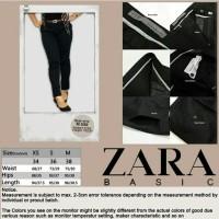 harga Zara Basic. Celana wanita sisa expor, size XS dan warna Navy Blue only Tokopedia.com