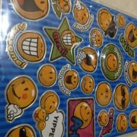 Sticker/stiker simbol karakter motif emoticon/ emoticon symbol