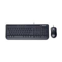 harga MICROSOFT Wired Desktop Keyboard Mouse 600 Black Tokopedia.com