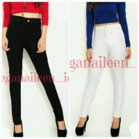 Jual Jeans Wanita Putih / Celana Jeans Highwaist Murah