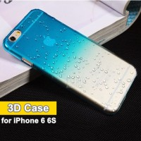 harga Semi Transparent 3d Rain Drop Water Soft Case For Iphone 6 6s Tokopedia.com