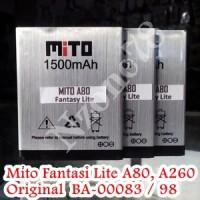 BATERAI MITO A80 A260 FANTASY LITE ORIGINAL