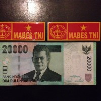 Stiker Sticker Plat Nomor MABES TNI untuk Mobil Motor
