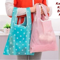 Kantong Kresek Bahan Kain (MOTIF) Tas belanja pengganti kantong plasti