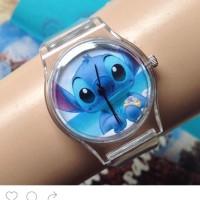 harga Jam tangan stitch bening -anekastitch Tokopedia.com