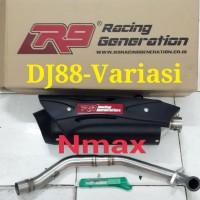 Knalpot R9 Misano Yamaha NMAX | Knalpot Racing Yamaha Nmax | Pusat Nmax