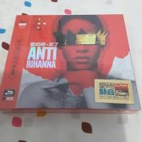 CD Rihanna Album Anti isi 3 Disc Original Import