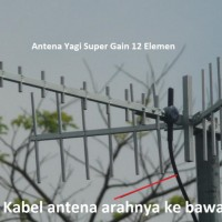 antena penguat sinyal hp android Yagi Induksi 12 Element
