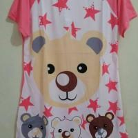 STLN- DRESS Bear Star Peach