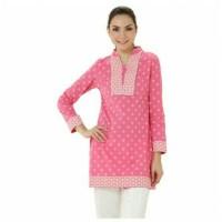 harga baju tunic merk ACCENT warna baby pink Tokopedia.com