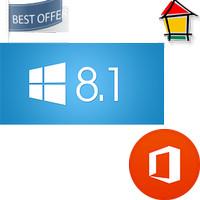 PAKET Lisensi Windows 8.1 Pro dan Office2013 Pro Plus SP1