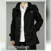 Jual Jaket Journalism/Jaket Fleece/Jaket Pria Korea/Jaket Keren Murah Murah