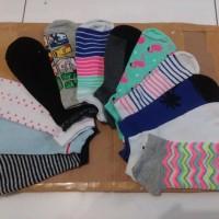 Kaos Kaki Wanita Cewe Pendek Se Mata Kaki Uk Dewasa Sock Remaja