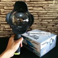Jual Original SHOOT Dome Port Xiaomi Yi With Hood -Dome Xiaoyi Best Quality Murah