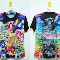 [ANIME] Kaos/Tshirt Fullprint Love Live! Muse SIF Angelic Angel ver