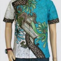 Jual Baju Kemeja Batik Modern Pria Khas Pekalongan Murah