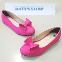 Flat Shoes Anak (A 27) - Fuschia - 28 s/d 35