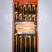 Mata Bor Besi TinCoated Kuningan 10,5mm MURAH