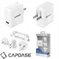 Original Charger USB Capdase Quick Charge 2A 18W  (Qualcomm Certified)