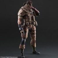 Jual Play Arts Kai Venom Snake Phantom Pain Metal Gear Solid Kws Murah
