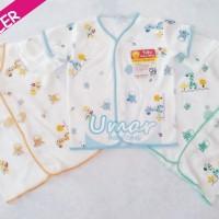 Jual Murah! Baju Bayi Lengan Pendek Tara (New Born) Putih, Kualitas SNI Murah