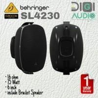 Behringer Eurocom SL4230 6 Inch 75 Watt Speaker Pasif + Braket Dinding