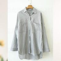 harga kemeja big size besar xxl vintage atasan wanita pakaian dress murah Tokopedia.com