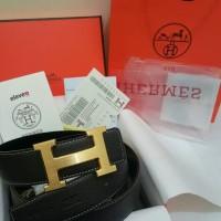 Premium Ikat Pinggang Sabuk Gesper Brand Hermes Leather Import