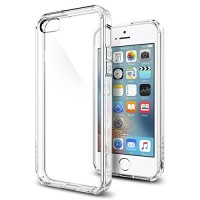 Spigen iPhone SE/5S/5 Case Ultra Hybrid - Crystal Clear