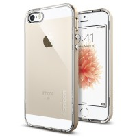 Spigen iPhone SE/5S/5 Case Neo Hybrid Crystal - Champagne Gold