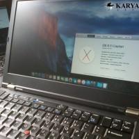 Jasa Install Hackintosh Thinkpad T420 DualBooting OSX + WINDOWS