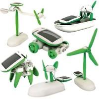 Mainan Edukatif Robot Solar Kits 6 in 1 Rakitan Tenaga Surya Matahari