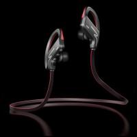 Phrodi Sport Bluetooth Earphone with Microphone - SP-6 - Black