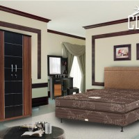 Bedroom Set Clarity Reguler Double Bed Room CR-10 Set Kamar Tidur