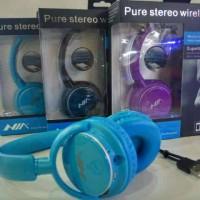 harga Headphone Bluetooth NIA Q1 - 4in1 Wireless Calls, Music, TF Card & FM Tokopedia.com