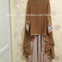 Gamis Syar'i by Jawhara syari/Baju Muslimah satu set