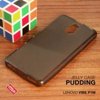 Lenovo Vibe P1m Soft Jelly Gel Silicon Silikon TPU Case Softcase Hitam