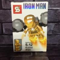 Lego Iron man Mark 21 / Midas Marvel Avenger Bootleg