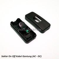 harga Saklar On Off Kabel Gantung Ac - Dc Hitam Tokopedia.com