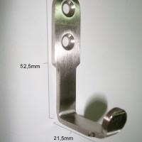 Kapstok / Gantungan Baju / Gantungan / Hook HK 031 Stainless Steel