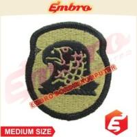 Badge Bordir Logo Simbol Militer Garuda