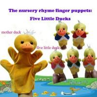 Jual Boneka Jari: Five Little Ducks Murah