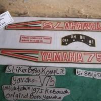 striplis/Stiker Body Sett Yamaha V75 (thn 1975 kebawah)