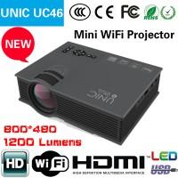 Jual proyektor WIFI UC 46 mini murah infocus infokus terbaik portable bagus Murah