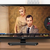'LG 24 Monitor LED TV 24MT48AF-PT Full HD IPS Original'
