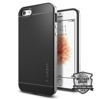 Spigen iPhone SE/5S/5 Case Neo Hybrid SGP-041CS20185 - Satin Silver